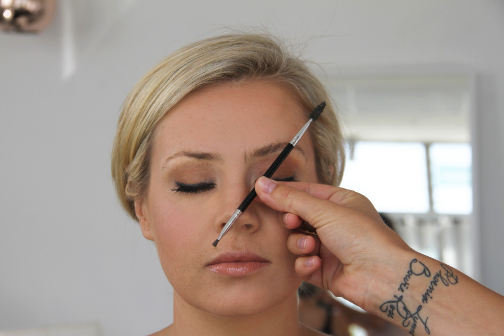 Brow Blog step 1 Mark your points2